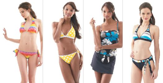 On-Figure Swimwear