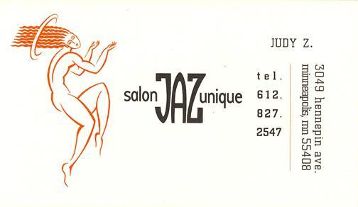 JAZ Salon Identity